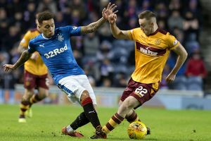 <b>Rangers 2-0 Motherwell</b><br>Selection of 44 items