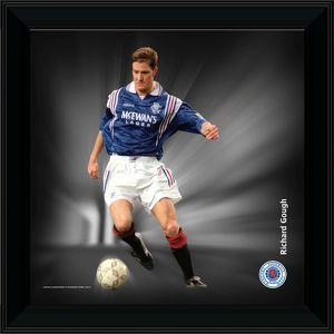Richard Gough Framed Dynamic Action Print