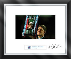 Richard Gough signed and mounted print
