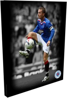 "RNGR088 - Barry Ferguson Duo-Tone 20""x16"" approx Canvas (508x406mm)"