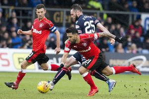 Ross County v Rangers - Ladbrokes Premiership - Global Energy Stadium