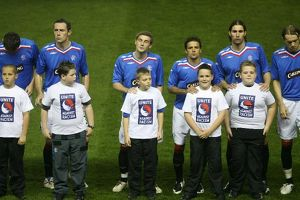 Soccer - Champions League - Rangers v Barcelona - Group E - Ibrox