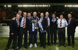 Soccer -CIS Cup Final - Rangers v Dundee United - Rangers Team arrive at Ibrox -