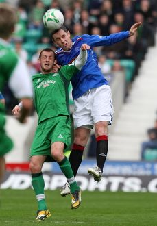 Soccer - Clydesdale Bank Premier League- Hibernian v Rangers- Easter Road