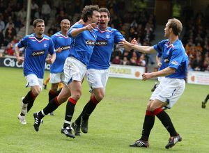 <b>Motherwell 1-1 Rangers</b><br>Selection of 24 items