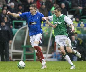 Soccer - Clydesdale Bank Premier League - Hibernian v Rangers - Easter Road