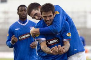 <b>Hamilton 0-1 Rangers</b><br>Selection of 23 items