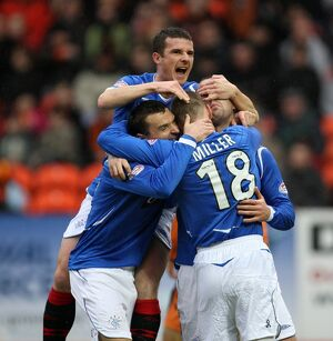 <b>Dundee Utd 2-2 Rangers</b><br>Selection of 25 items