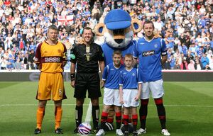 Soccer - Clydesdale Bank Premier League - Rangers v Motherwell - Ibrox