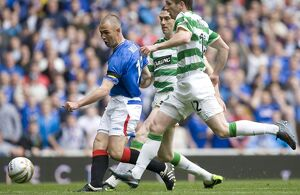 Soccer - Clydesdale Bank Premier League - Rangers v Celtic - Ibrox Stadium