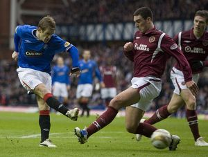 Soccer - Clydesdale Bank Premier League - Rangers v Heart of Midlothian - Ibrox