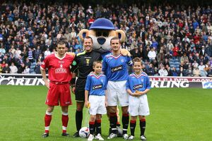 Soccer - Clydesdale Bank Premier League - Rangers v Falkirk - Ibrox