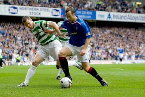 Soccer -Clydesdale Bank Premier League- Rangers v Celtic - Ibrox