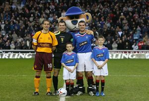 Soccer -Clydesdale Bank Premier League- Rangers v Motherwell - Ibrox Stadium