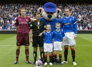 Soccer - Clydesdale Bank Scottish Premier League - Rangers v Heart of Midlothian