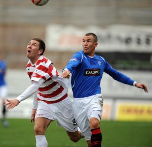Soccer - Clydesdale Bank Scottish Premier League - Hamilton v Rangers - New Douglas Park