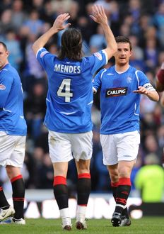 previous seasons/matches previous seasons matches season 08 09 rangers 2 2 hearts/soccer clydesdale bank scottish premier league