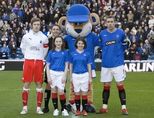 Soccer - Clydesdale Bank Scottish Premier League - Rangers v Falkirk - Ibrox Stadium