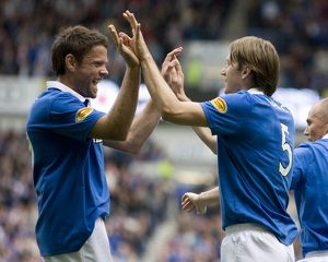 <b>Rangers 2-1 St Johnstone</b><br>Selection of 13 items