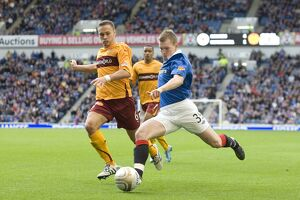 Soccer - Clydesdale Bank Scottish Premier League - Rangers v Motherwell - Ibrox