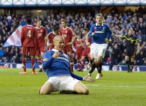 <b>Rangers 2-0 Aberdeen</b><br>Selection of 24 items
