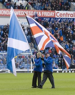 Soccer - Clydesdale Bank Scottish Premier League - Rangers v Motherwell - Ibrox Stadium