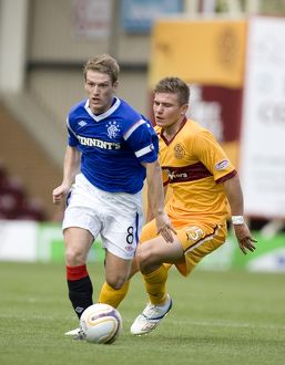 Soccer - Clydesdale Bank Scottish Premier League - Motherwell v Rangers - Fir Park