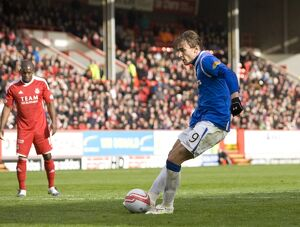Soccer - Clydesdale Bank Scottish Premier League - Aberdeen v Rangers - Pittodrie Stadium