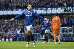<b>Rangers 3-1 Dundee United</b><br>Selection of 83 items
