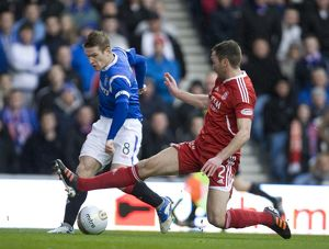 Soccer - Clydesdale Bank Scottish Premier League - Rangers v Aberdeen - Ibrox Stadium