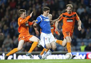 Soccer - Clydesdale Bank Scottish Premier League - Rangers v Dundee United - Ibrox Stadium