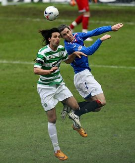 Soccer - Clydesdale Bank Scottish Premier League - Rangers v Celtic - Ibrox