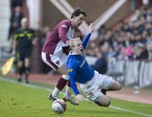 <b>Hearts 1-0 Rangers</b><br>Selection of 29 items