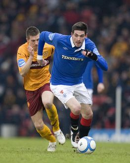 Soccer - The Co-operative Insurance Cup Semi Final - Rangers v Motherwell - Hampden Park