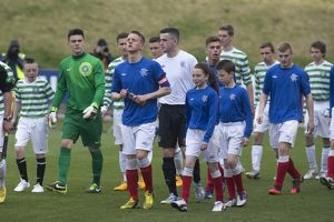 Soccer - Glasgow Cup Final - Celtic v Rangers - Firhill Stadium