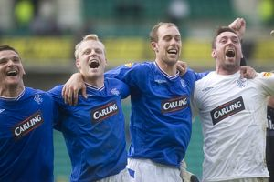 Soccer - Hibernian v Rangers - Clydesdale Bank Premier League - Easter Road