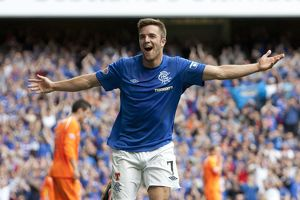 <b>Rangers 5-1 East Stirlingshire</b><br>Selection of 90 items