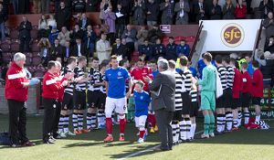 <b>East Stirlingshire 2-4 Rangers</b><br>Selection of 46 items