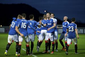 <b>Dumbarton 0-6 Rangers</b><br>Selection of 45 items