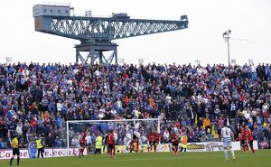 <b>Morton 0-4 Rangers</b><br>Selection of 87 items