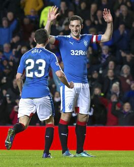 <b>Rangers 2-0 Raith Rovers</b><br>Selection of 63 items