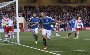 Soccer - The League Cup - Round Two - Airdrieonians v Rangers - Excelsior Stadium