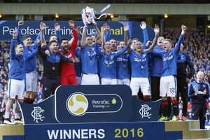<b>Rangers 4-0 Peterhead - The Petrofac Final</b><br>Selection of 161 items