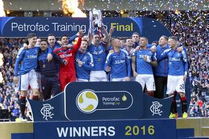 Soccer - The Petrofac Training Cup Final - Rangers v Peterhead - Hampden Park