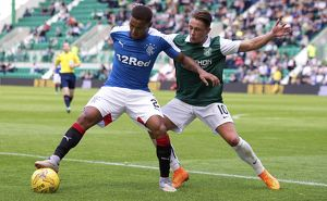 Soccer - Petrofac Training Cup - First Round - Hibernian v Rangers - Easter Road