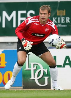 Soccer - Pre Season Friendly - Alex Totten Testimonial Falkirk v Rangers - The Falkirk