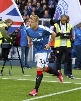 Soccer - Pre Season Friendly - Rangers v Burnley - Ibrox Stadium