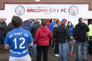 Soccer - Ramsdens Cup First Round - Brechin City v Rangers - Glebe Park