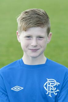 Soccer - Rangers Under 10s Team and Headshots - Murray Park
