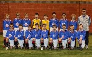 Soccer - Rangers - Under 11 Team Group - Murray Park